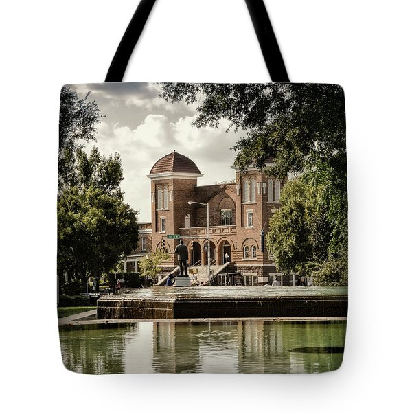 16th Street Baptist Church Tote Bag
