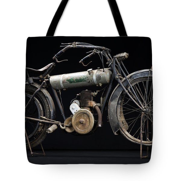 1917 Triumph Model H Tote Bag