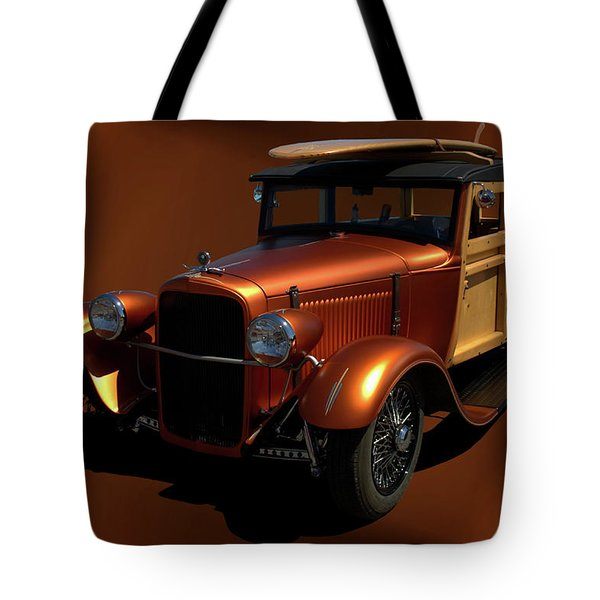 1929 Ford Model A Woody Tote Bag