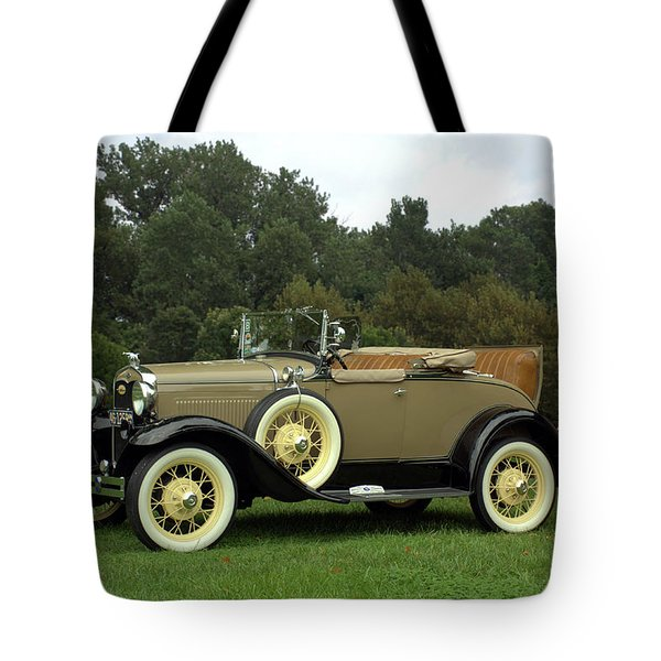 1931 Ford Model A Roadster Tote Bag by Tim McCullough