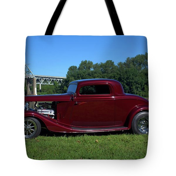1934 Ford Coupe Tote Bag by Tim McCullough