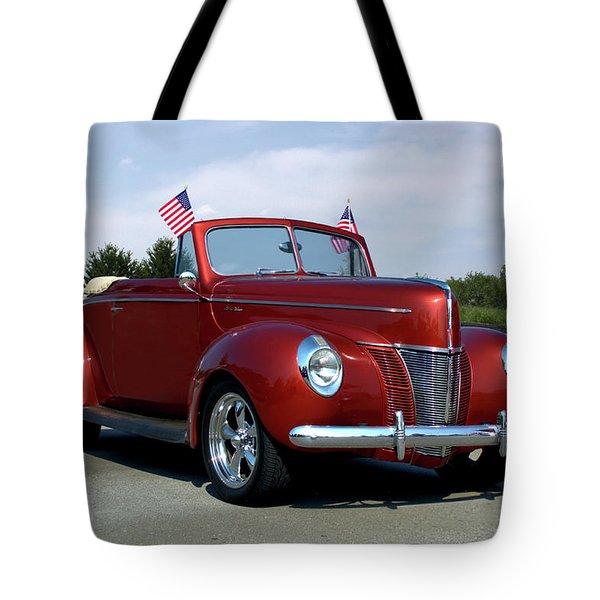1940 Ford Convertible Tote Bag