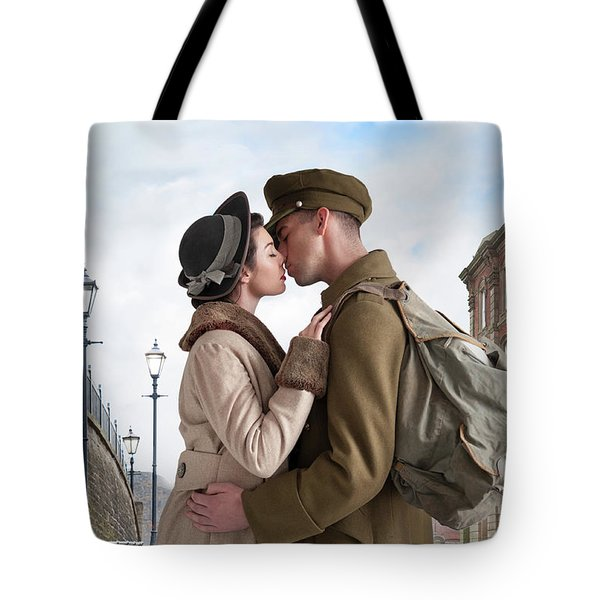 1940s Lovers Tote Bag