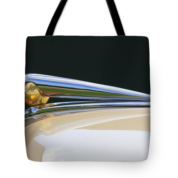 1941 Lincoln Continental Hood Ornament 2 Tote Bag by Jill Reger