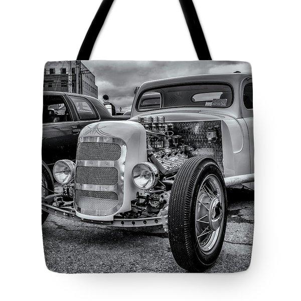 1948 Mercury Pickup Hot Rod Tote Bag by Ken Morris
