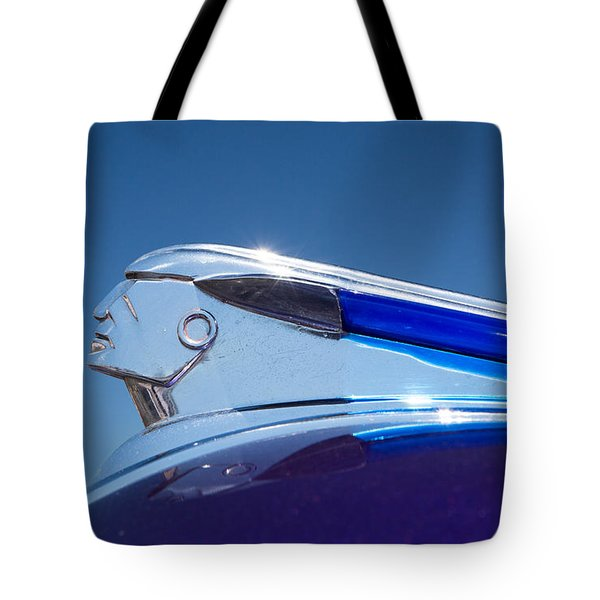 1948 Pontiac Hood Ornament Tote Bag