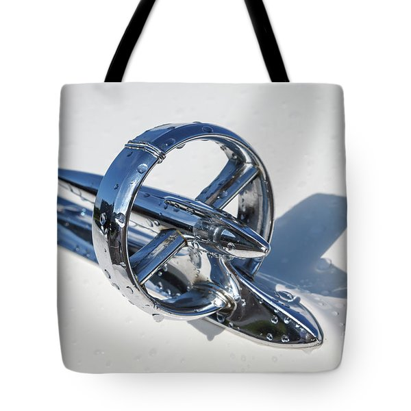 Tote Bag featuring the photograph 1953 Buick Hood Ornament by Dennis Hedberg