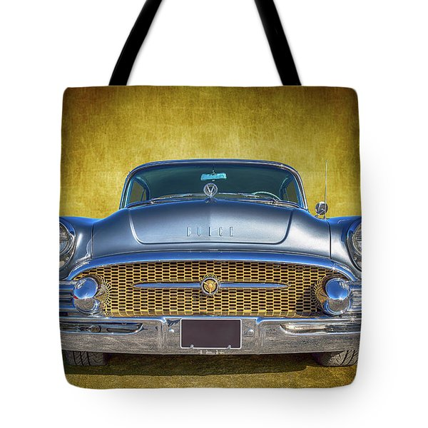 1955 Buick Tote Bag by Keith Hawley
