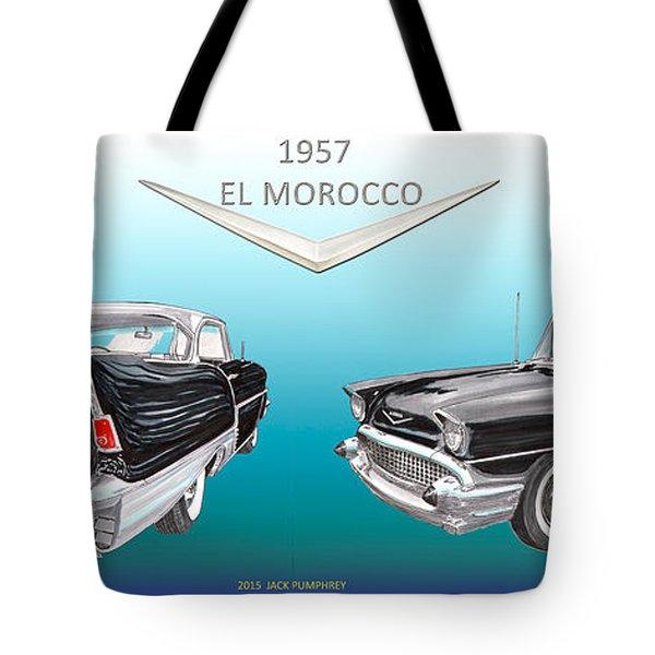 1957 Chevrolet El Morocco Hard Top Painting by Jack Pumphrey
