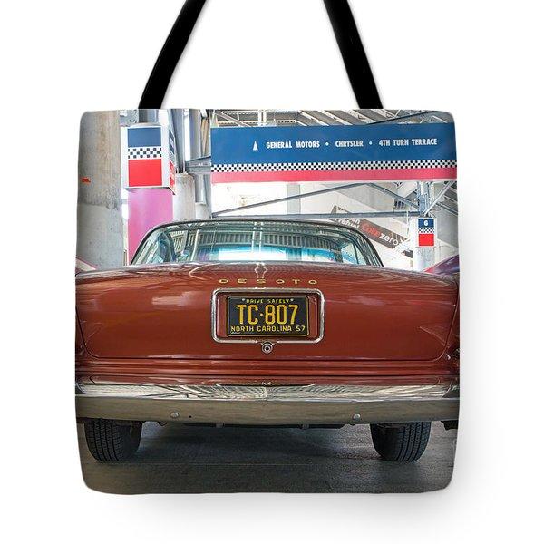 1957 Desoto Tote Bag