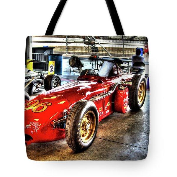 1961 Elder Indy Racing Special Tote Bag