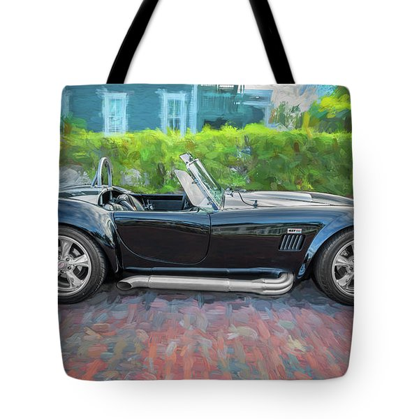 1965 Ford Ac Cobra Painted    Tote Bag