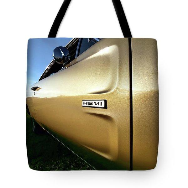 1968 Dodge Charger Hemi Tote Bag by Gordon Dean II