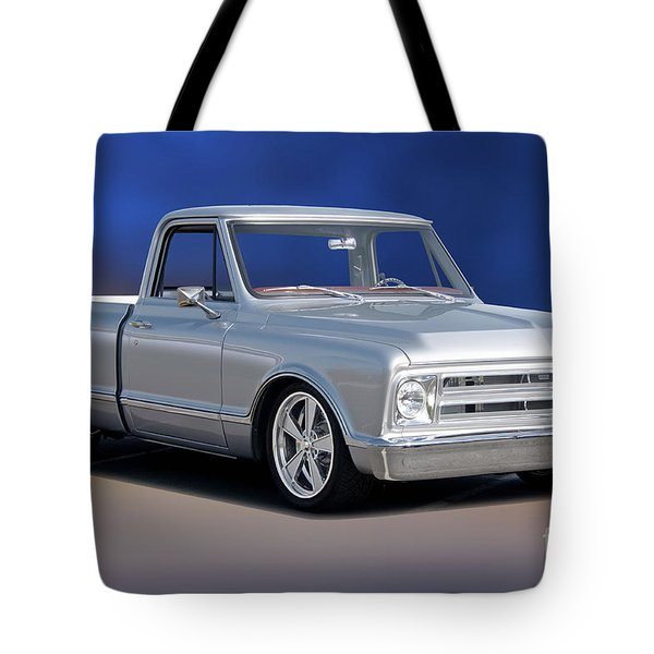 1969 Chevrolet C10 Pickup 'studio' 1 Tote Bag
