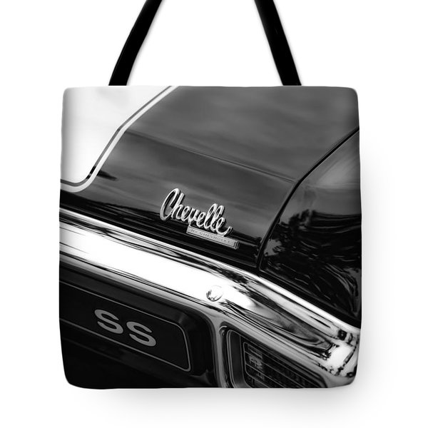 1970 Chevrolet Chevelle Ss 396 Tote Bag