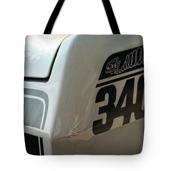 1971 Plymouth Duster 340 Tote Bag by Gordon Dean II