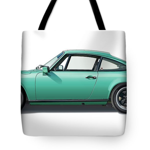 1976 Porsche Euro Carrera 2.7 Illustration Tote Bag