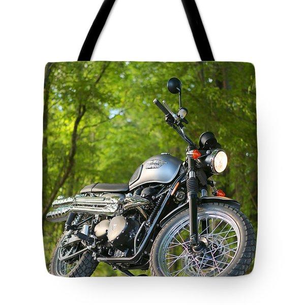 2013 Triumph Scrambler Tote Bag