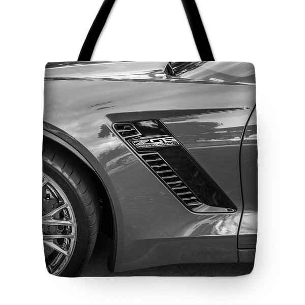 2015 Chevrolet Corvette Z06 Painted  Tote Bag