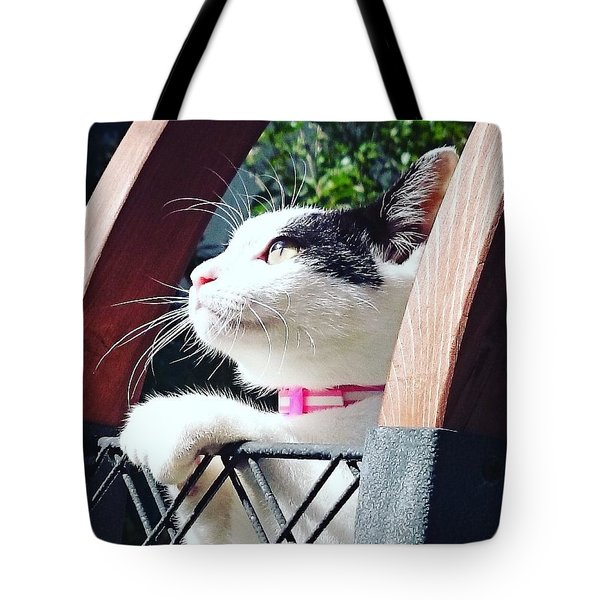 Koneko Means A Kitten Tote Bag