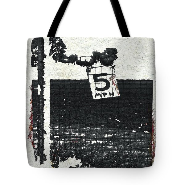 5 Mph Tote Bag by Kandy Hurley
