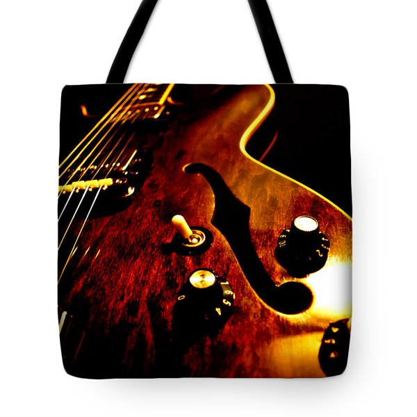 '68 Gibson Tote Bag by Christopher Gaston