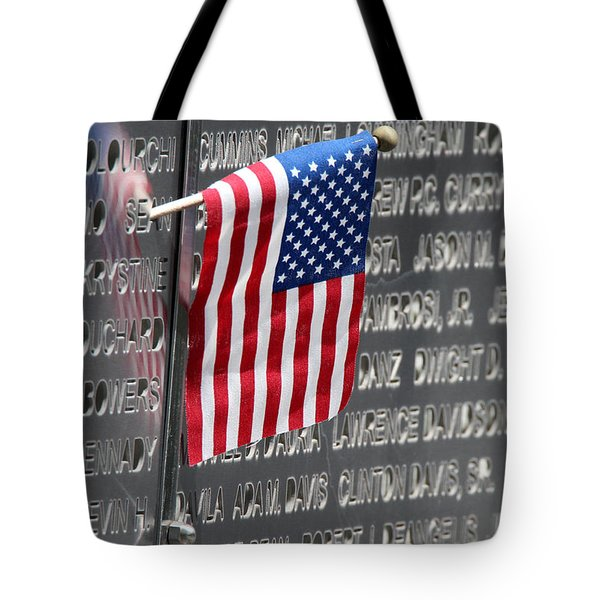 9 11 Memorial Rocky Point New York Tote Bag