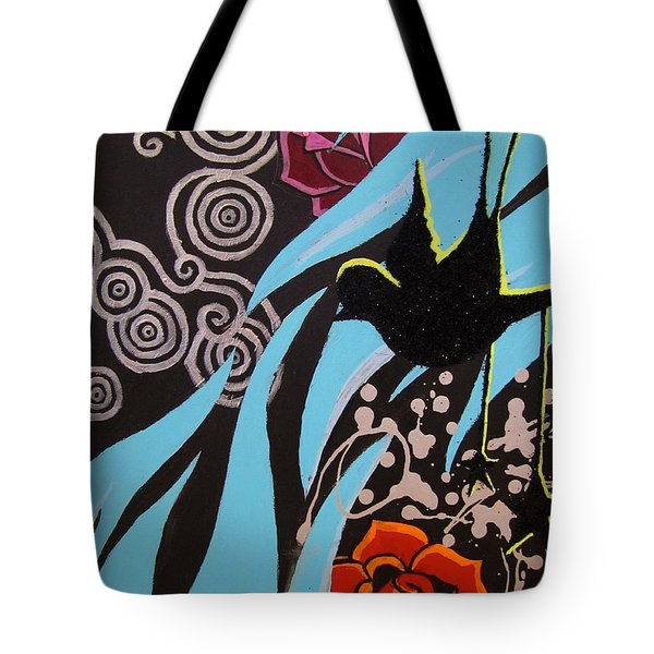 A Beautiful Flight Tote Bag