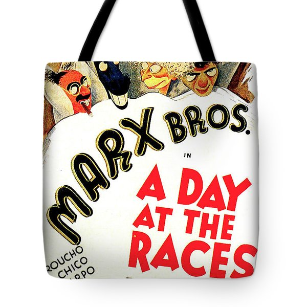 A Day At The Races 1937 Tote Bag
