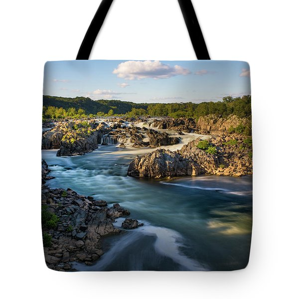 A Day In The Life Of A River Tote Bag