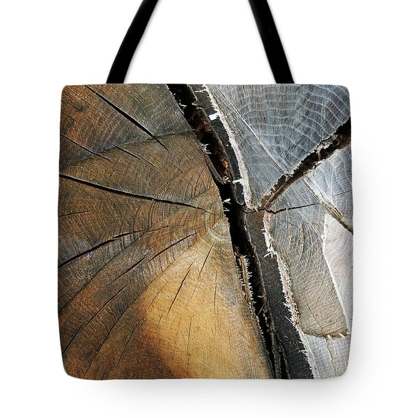 Tote Bag featuring the photograph A Dead Tree by Dorin Adrian Berbier