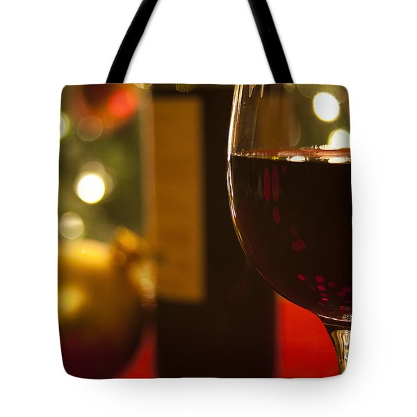 A Drink By The Tree Tote Bag