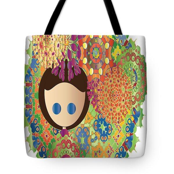 A Garden Tote Bag by J Riley Johnson