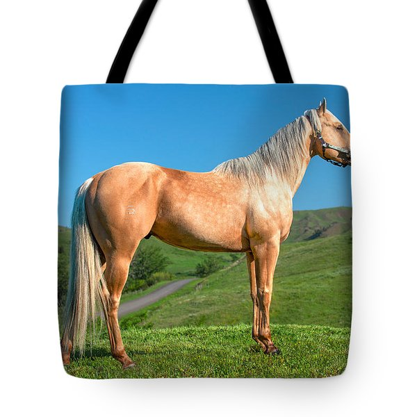 A Horse Named Shaker Tote Bag