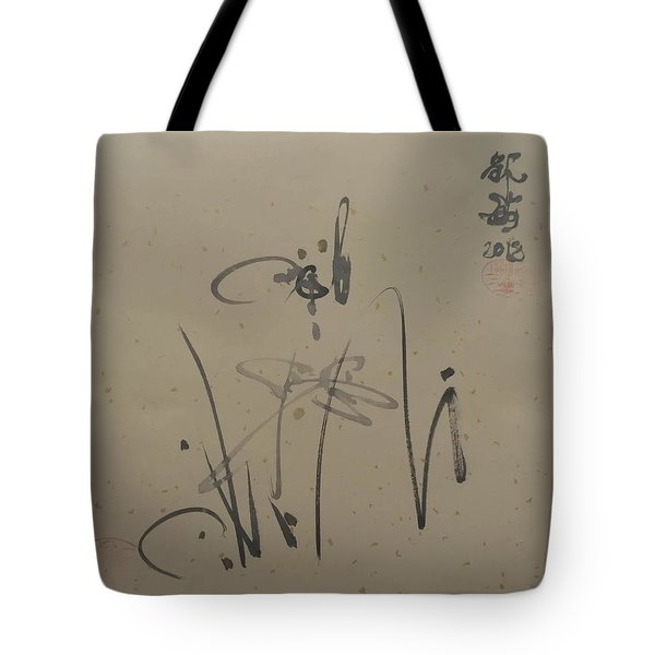 A Leisurely Little Ink Tote Bag