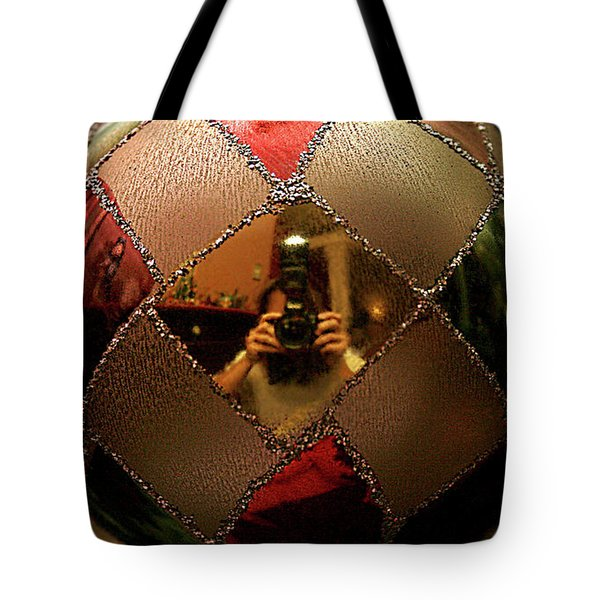 Tote Bag featuring the photograph A Photographer's Christmas Greeting by Trish Mistric