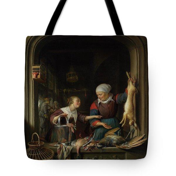 A Poulterer's Shop Tote Bag