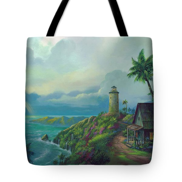 A Small Patch Of Heaven Tote Bag by Michael Humphries