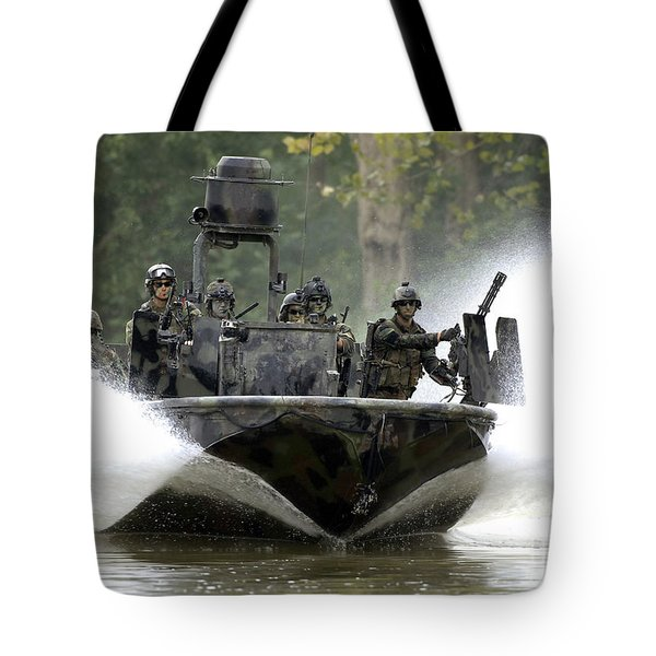 A Special Operations Craft Riverine Tote Bag