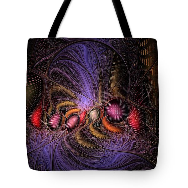 Tote Bag featuring the digital art A Student Of Time by NirvanaBlues