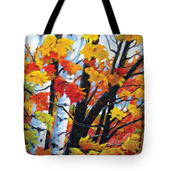 A Touch Of Canada Tote Bag by Richard T Pranke