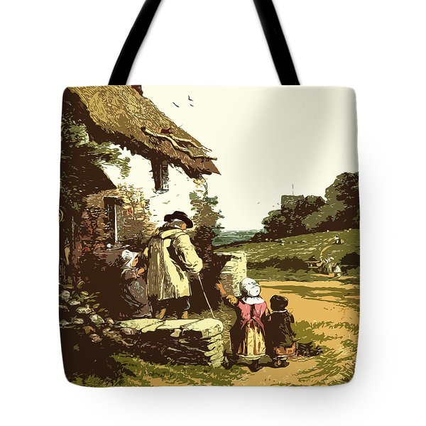 A Walk With The Grand Kids Tote Bag