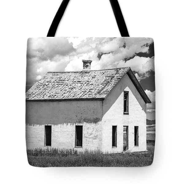 Tote Bag featuring the photograph Abandoned by Colleen Coccia