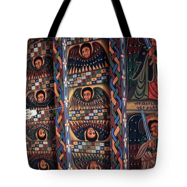 Abba Pantaleon Monastery, Axum, Ethiopia Tote Bag