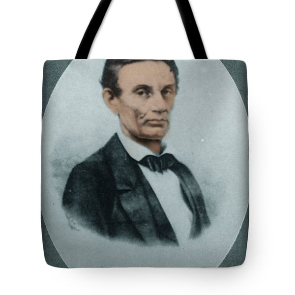 Abraham Lincoln, 16th American President Tote Bag by Science Source