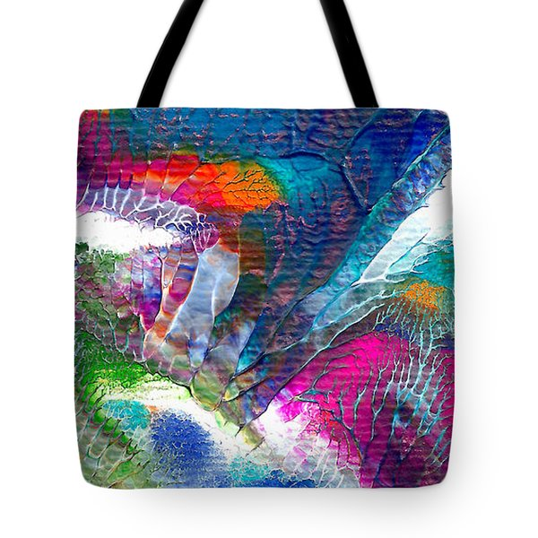 Abstract 10115a Tote Bag