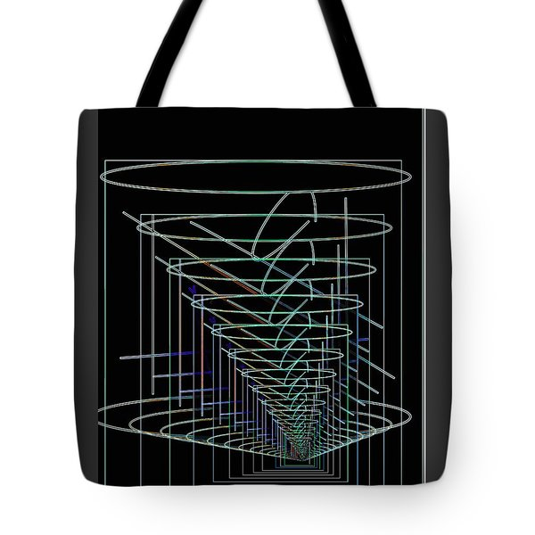 Abstract 13 Tote Bag by John Krakora