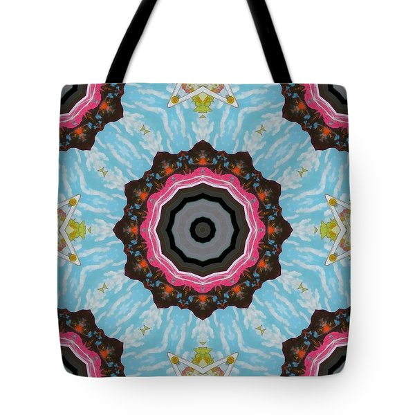 Abstract 2 Tote Bag by Jeffrey Kolker