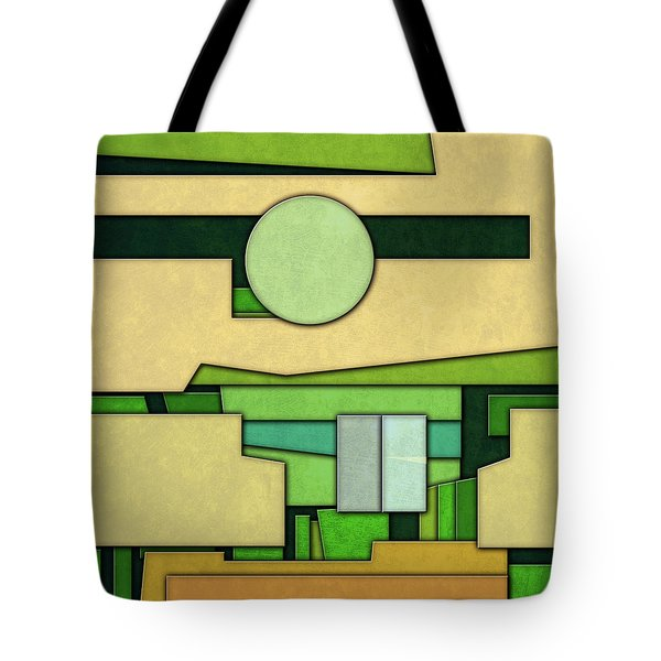 Abstract Cubist Tote Bag by Gary Grayson