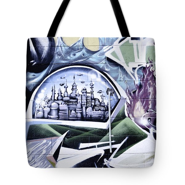 Abstract Graffiti Tote Bag